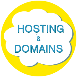 Hosting and domain management services provided by Stellar Logo Design.